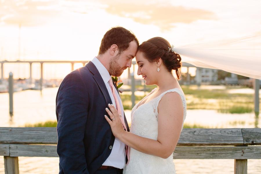 A Summer Wedding at The Charleston Yacht Club