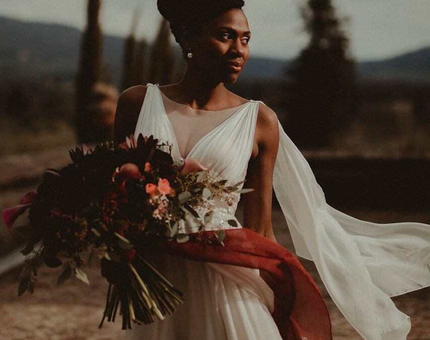 A Lavish Styled Shoot in the Lush Hills of Tuscany