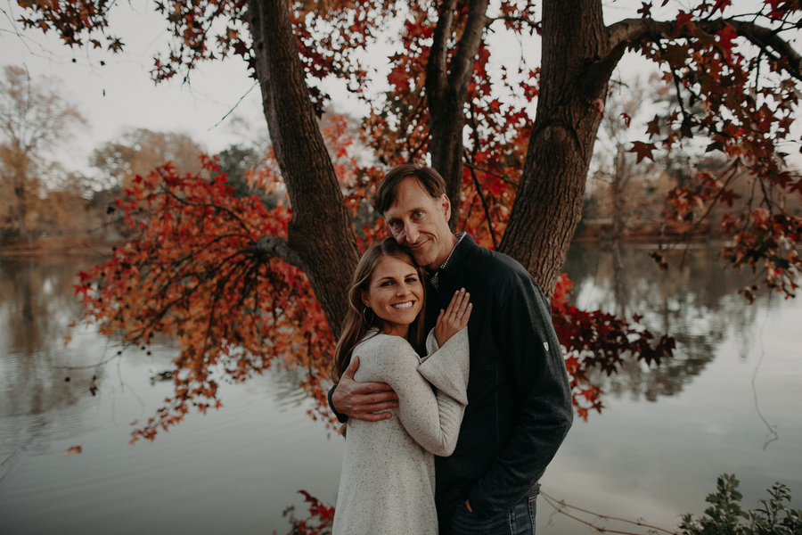 Atlanta Piedmont Park Engagement Session: Lindsay & Brian