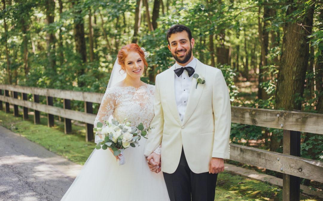Glamorous Outdoor Estate Wedding: Gabrielle & William