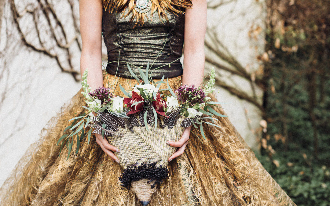 A Moody & Chic Game of Thrones Inspired Elopement Styled Shoot