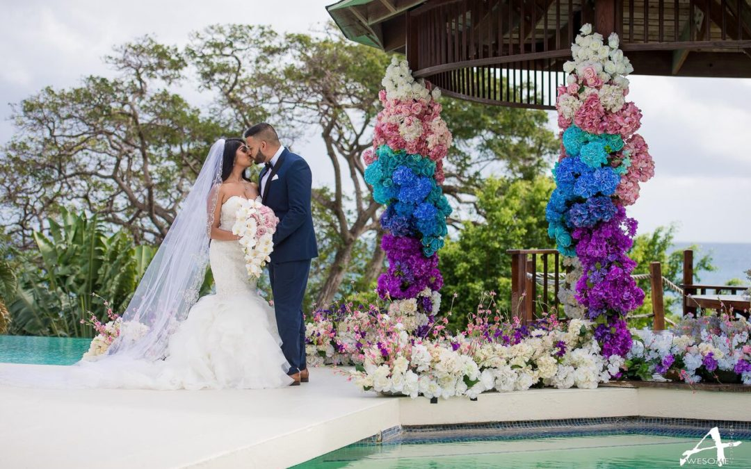 A Destination Wedding at Tobago's Ohana Villa