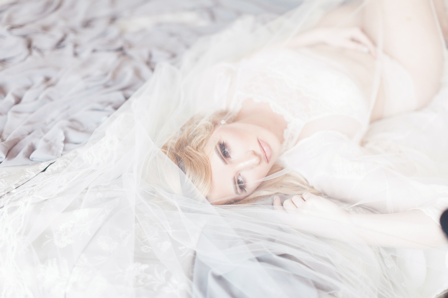 Ethereal Bridal Boudoir Inspiration