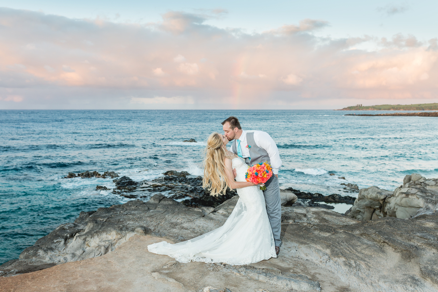 A Vibrant Maui Elopement, Bellette & Mike