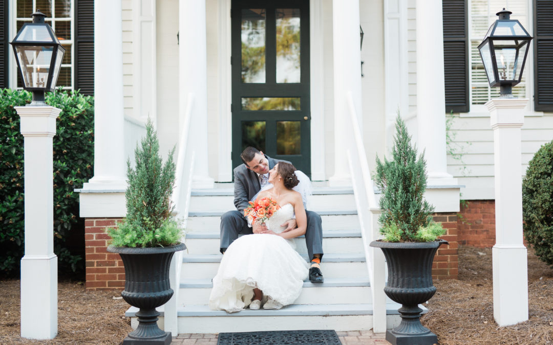 North Carolina Estate Wedding: Jamie & Marc