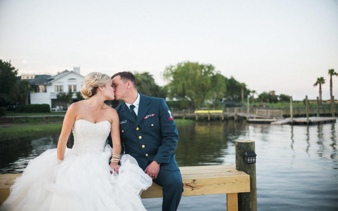 North Carolina Waterfront Wedding: Jessi & Hilton