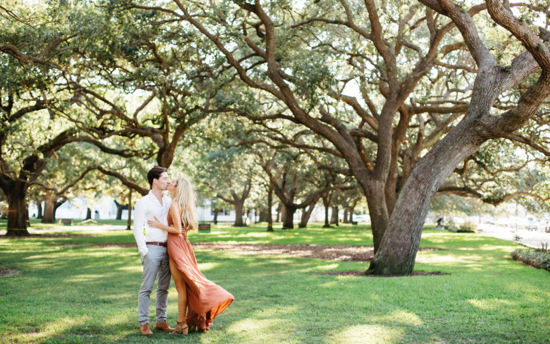 Historic Charleston Engagement Session, Elizabeth & Micah