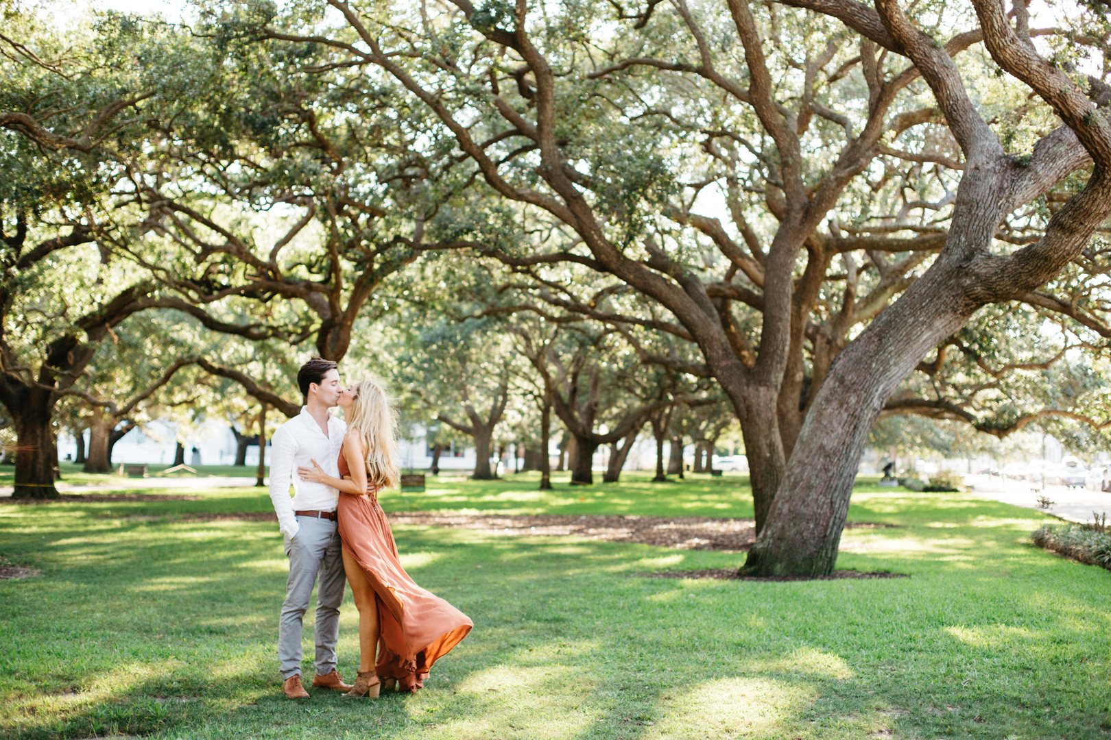 Historic Charleston Engagement Session, Elizabeth & Micah