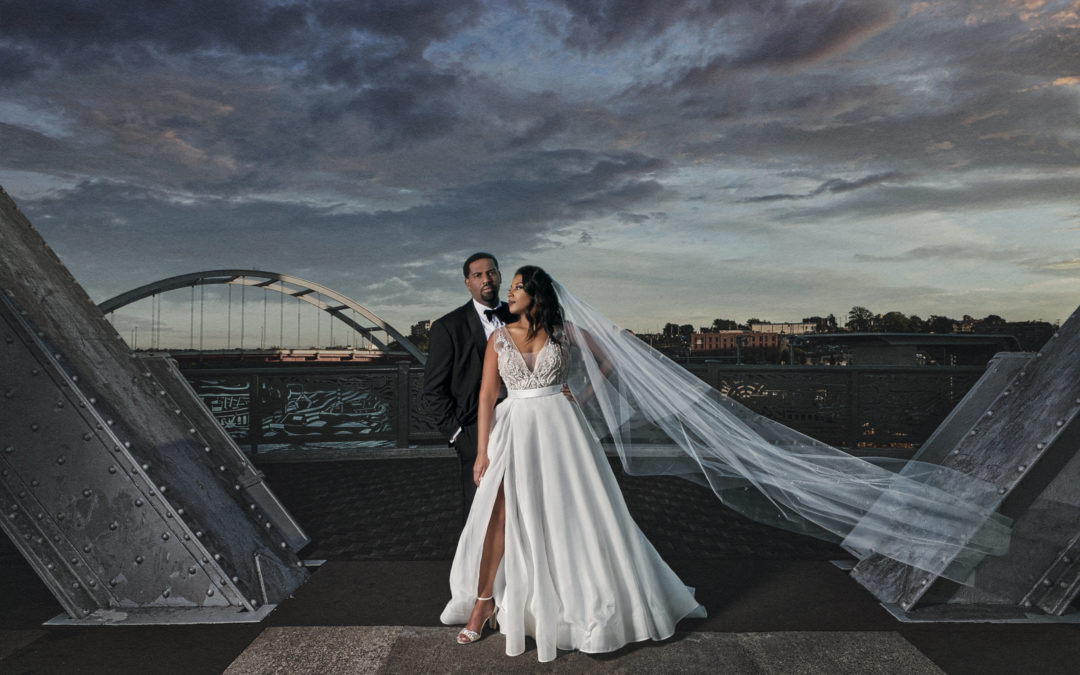 Elegance meets Art Deco in Nashville, TN – Michelle and Herb