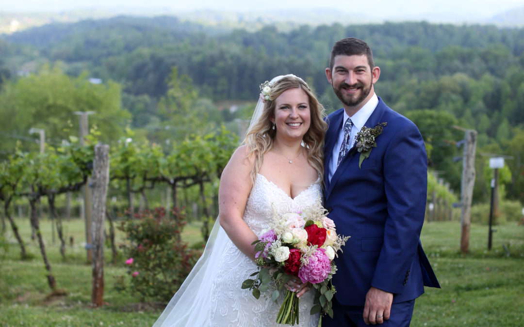 A Romantic Vineyard Wedding – Jenny and Yager