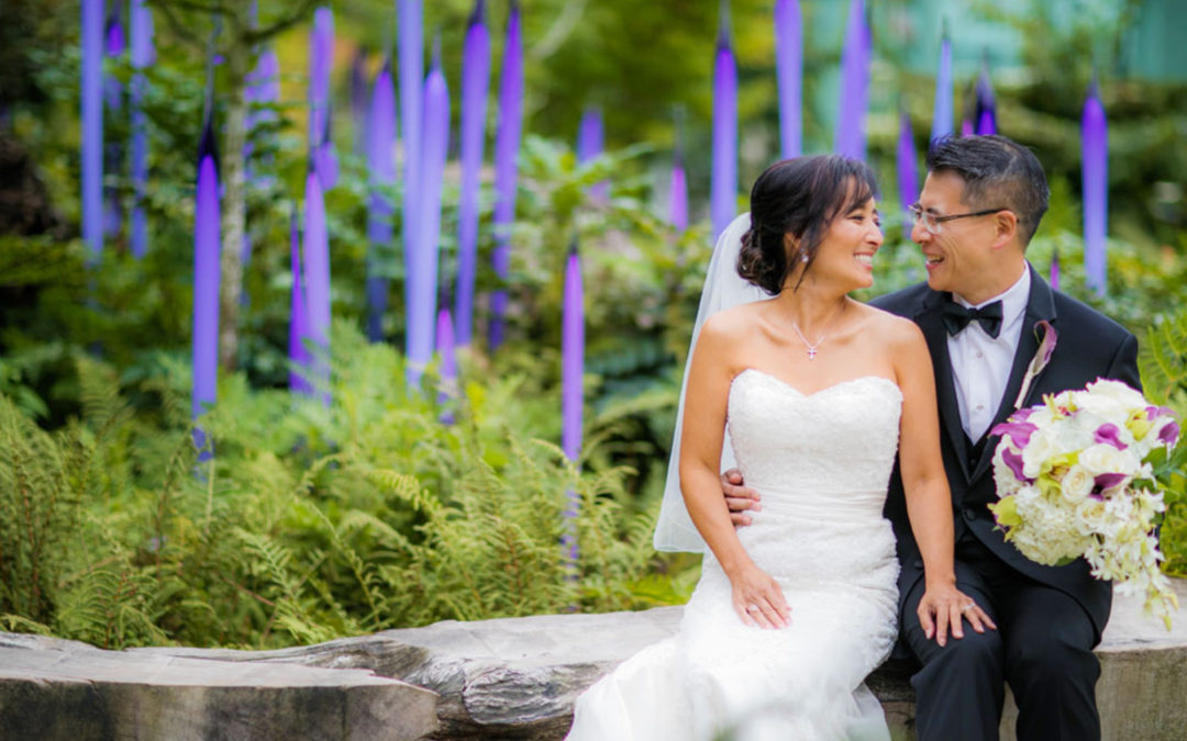 Seattle Garden & Glass Summer Wedding