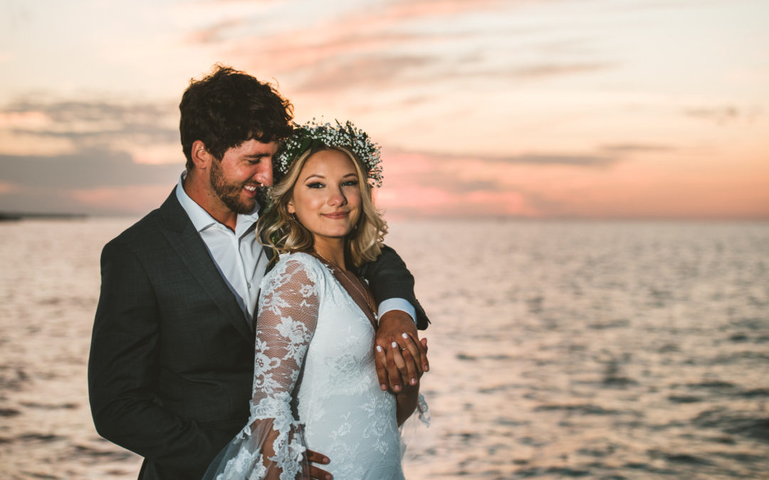 Bohemian Waterfront Florida Keys Wedding: Casey & Mark