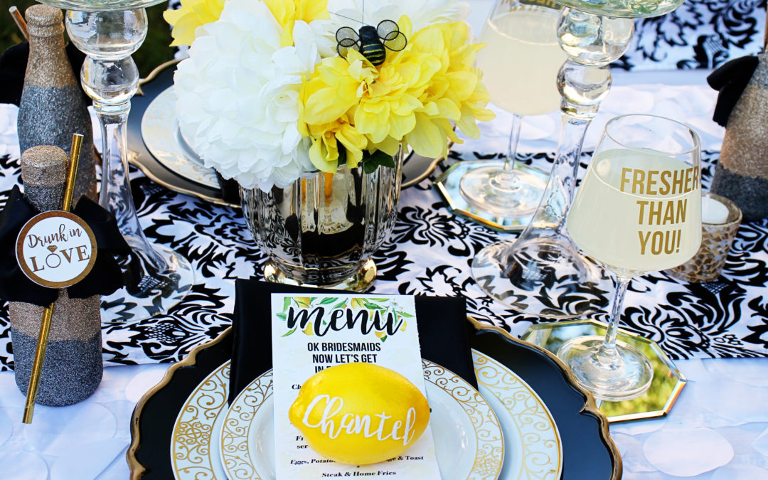 Lemon  Themed Bridal Shower