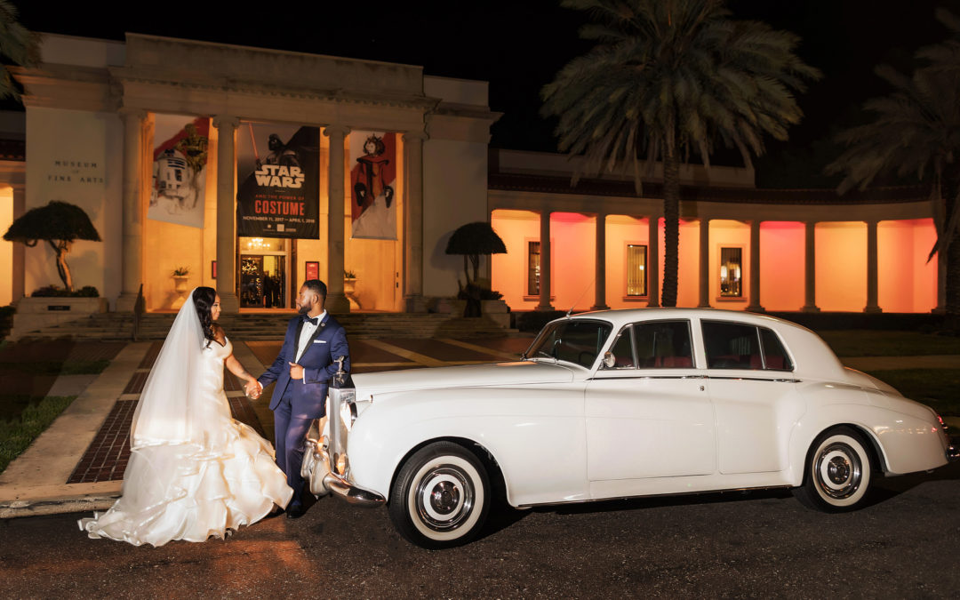 Old Hollywood Glam Wedding – Jada and O' Dane