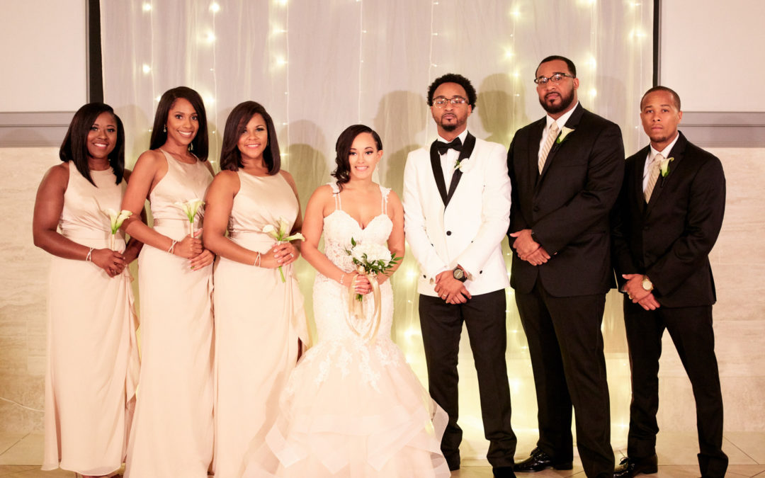Love and Lights Houston Wedding: Jessica & Ned
