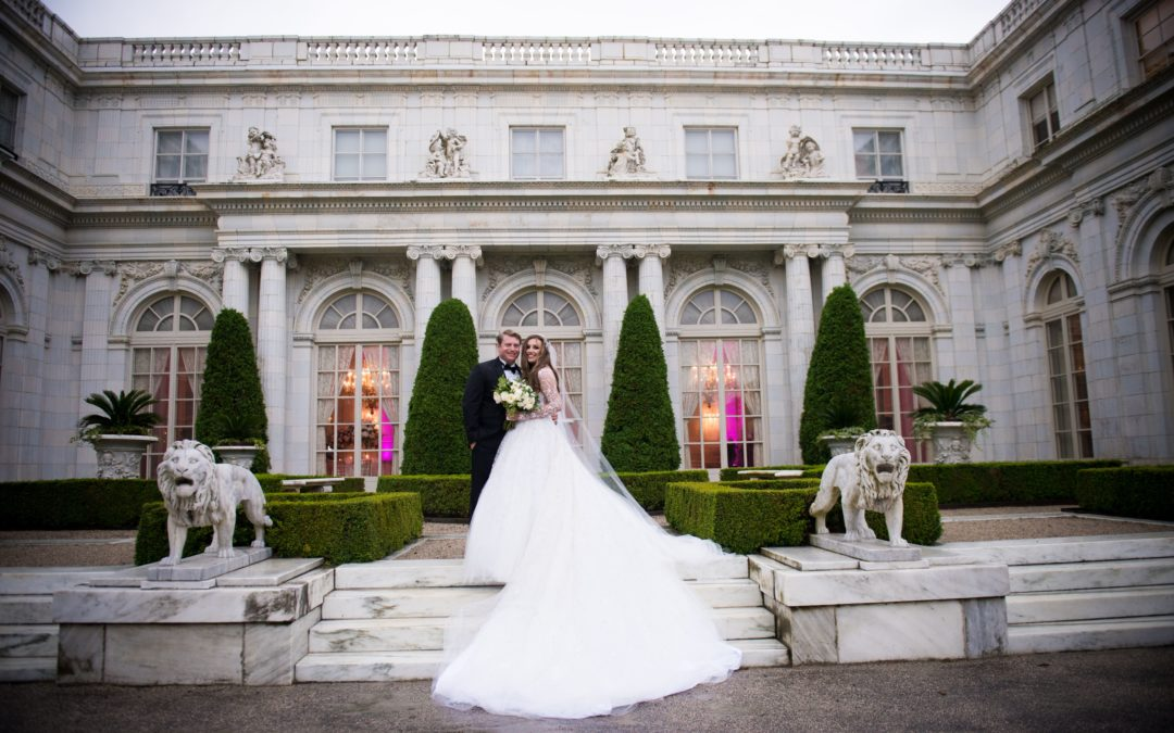 Fairytale Newport Mansion Wedding: Olivia & Zack