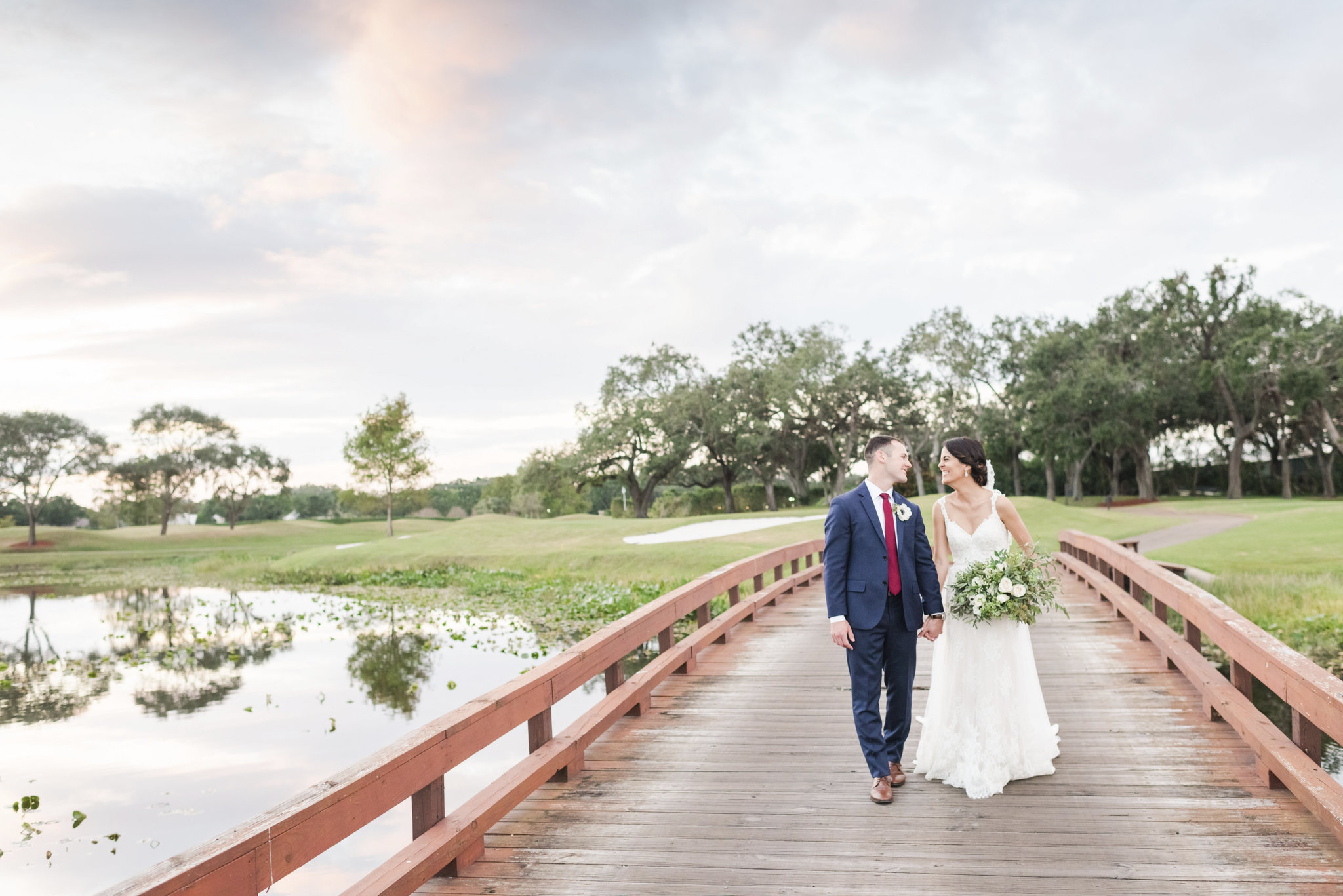 Picturesque Florida Wedding at the Grande Oaks Country Club