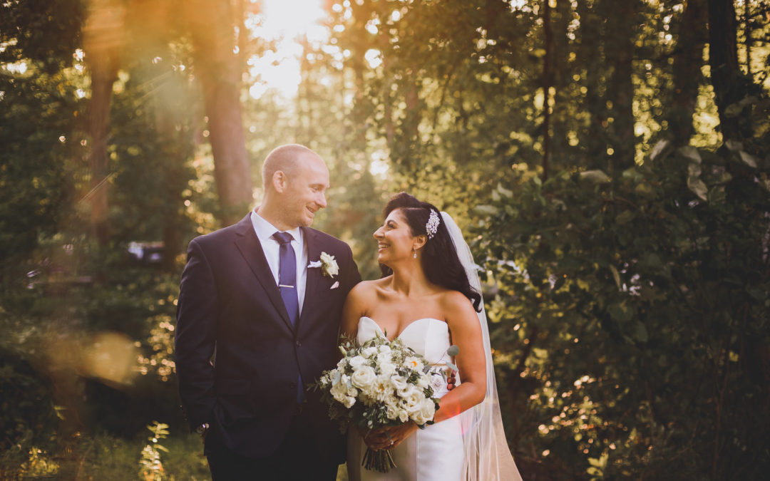 Elegant Tented New Jersey Backyard Wedding