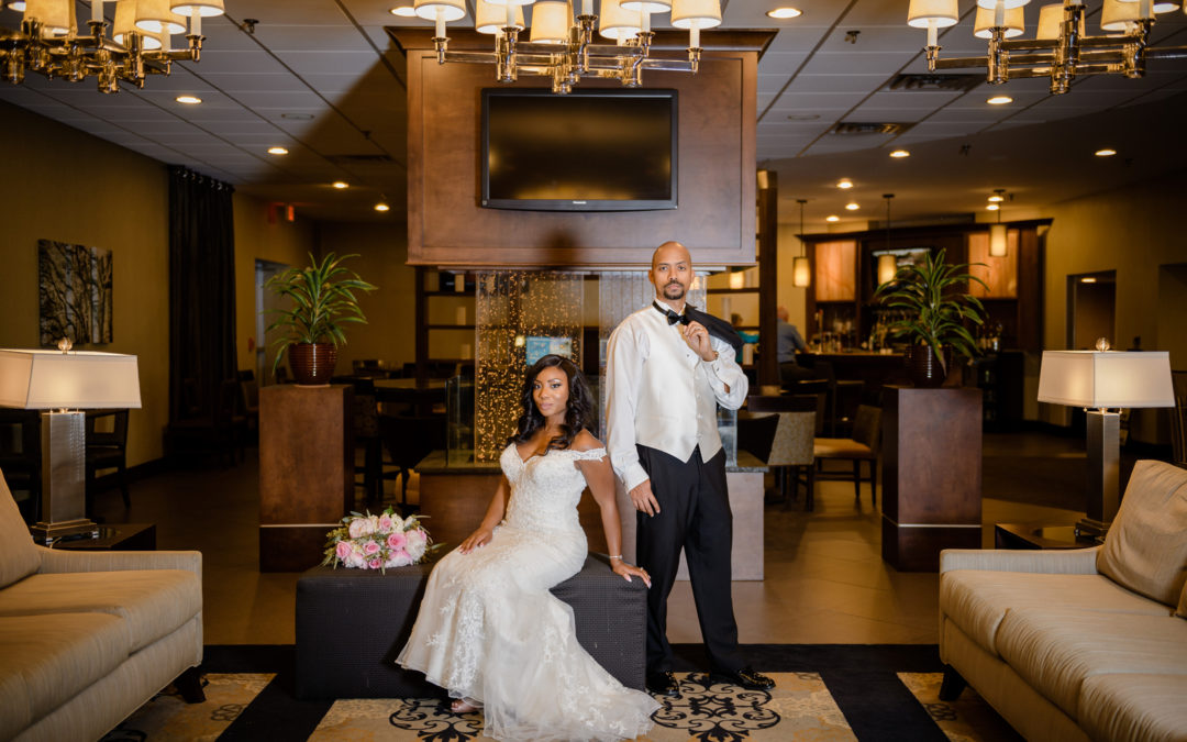 A Blush and Gold Wedding in North Carolina – Darcel and Macey