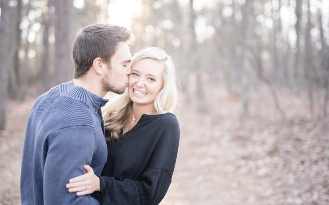 A Romantic Rustic Engagement Shoot – McKenna and Jake
