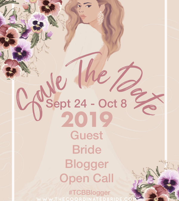 Become a 2019 Guest Bride Blogger