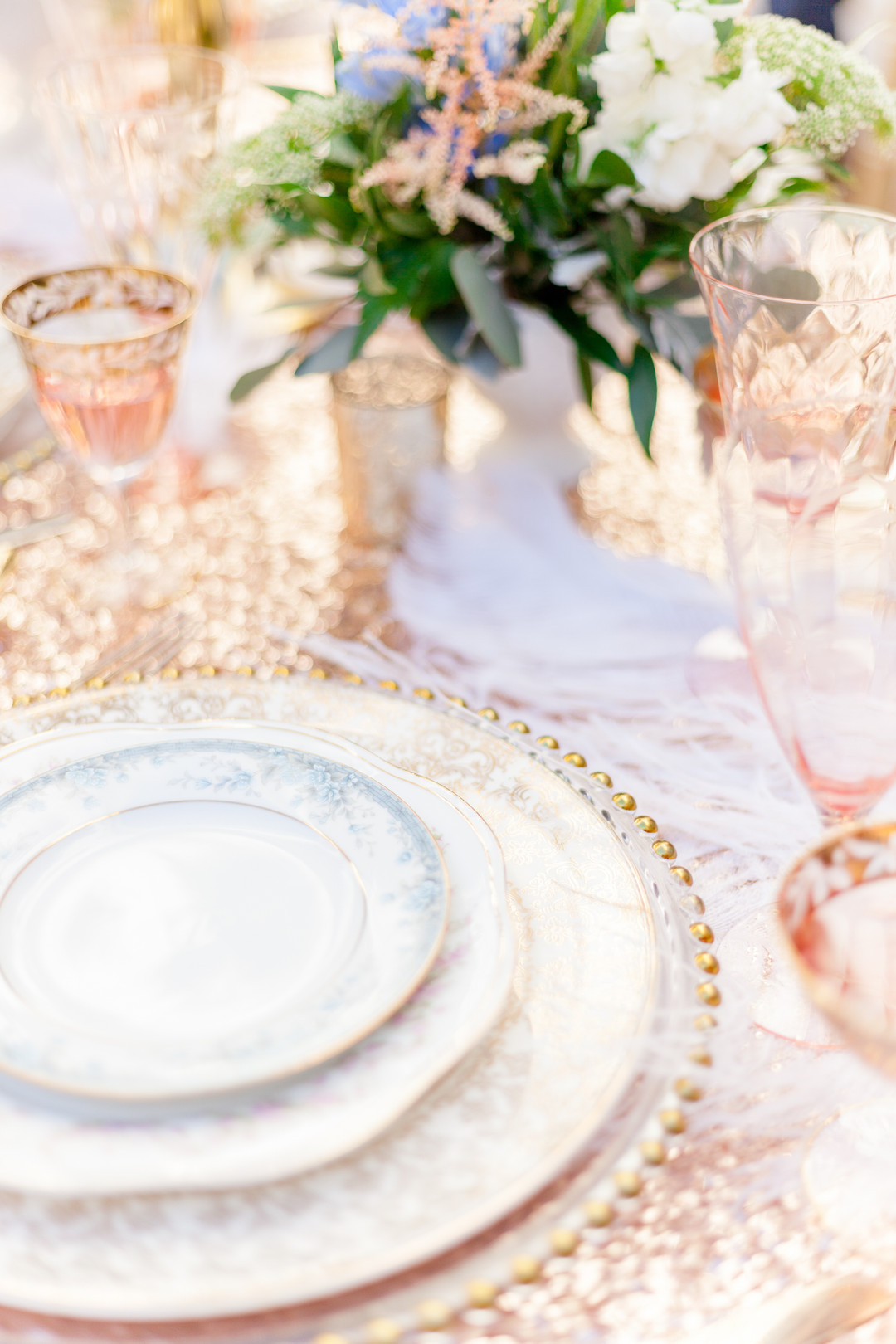 Maria Antoinette Vintage Glam Styled Shoot The