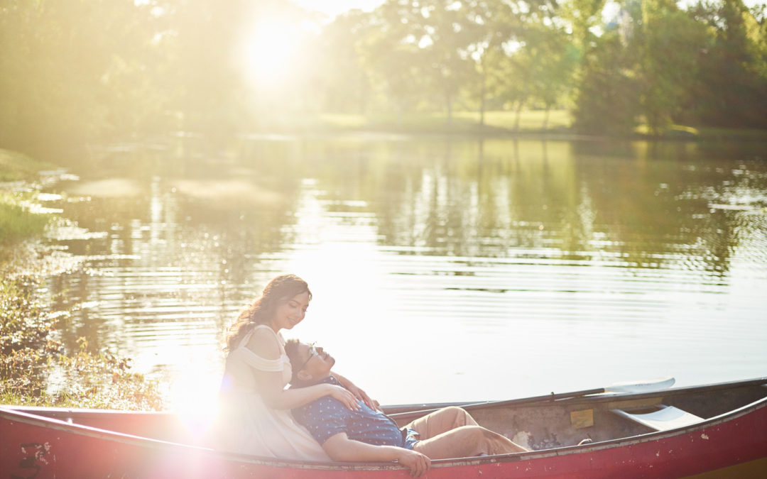 Romantic Bayou Engagement Session: Jocelin & Daniel