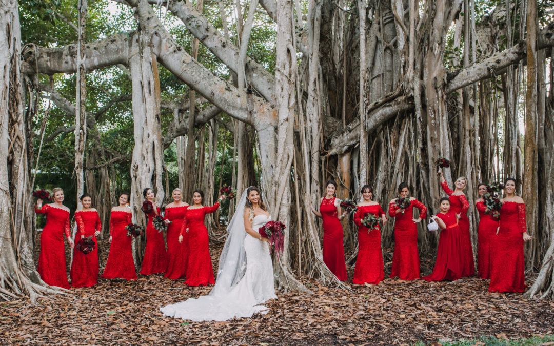 Holiday Wedding at The Ringling: Maria & Charles