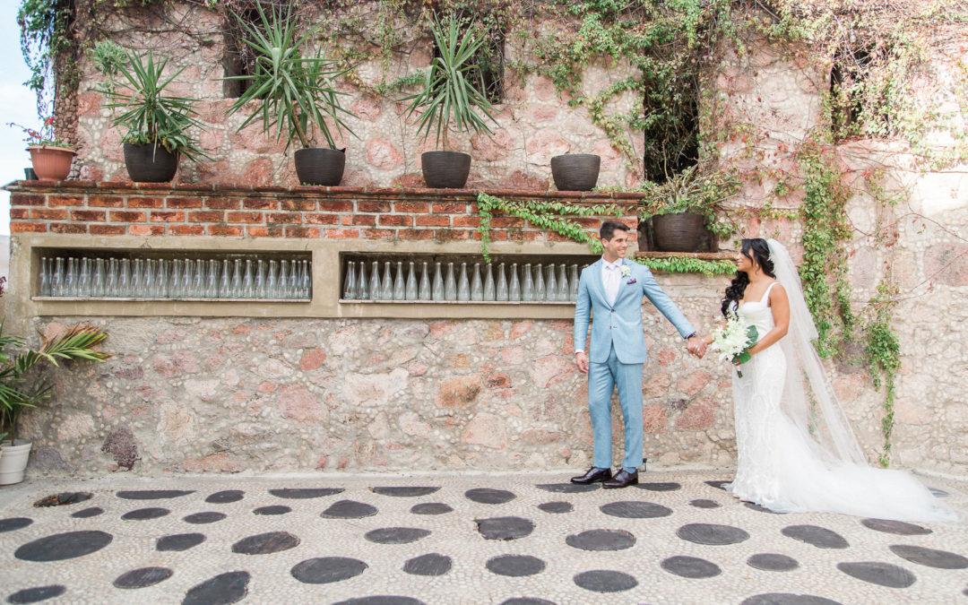 A  Cliffside Destination Wedding in Puerto Vallarta, Mexico
