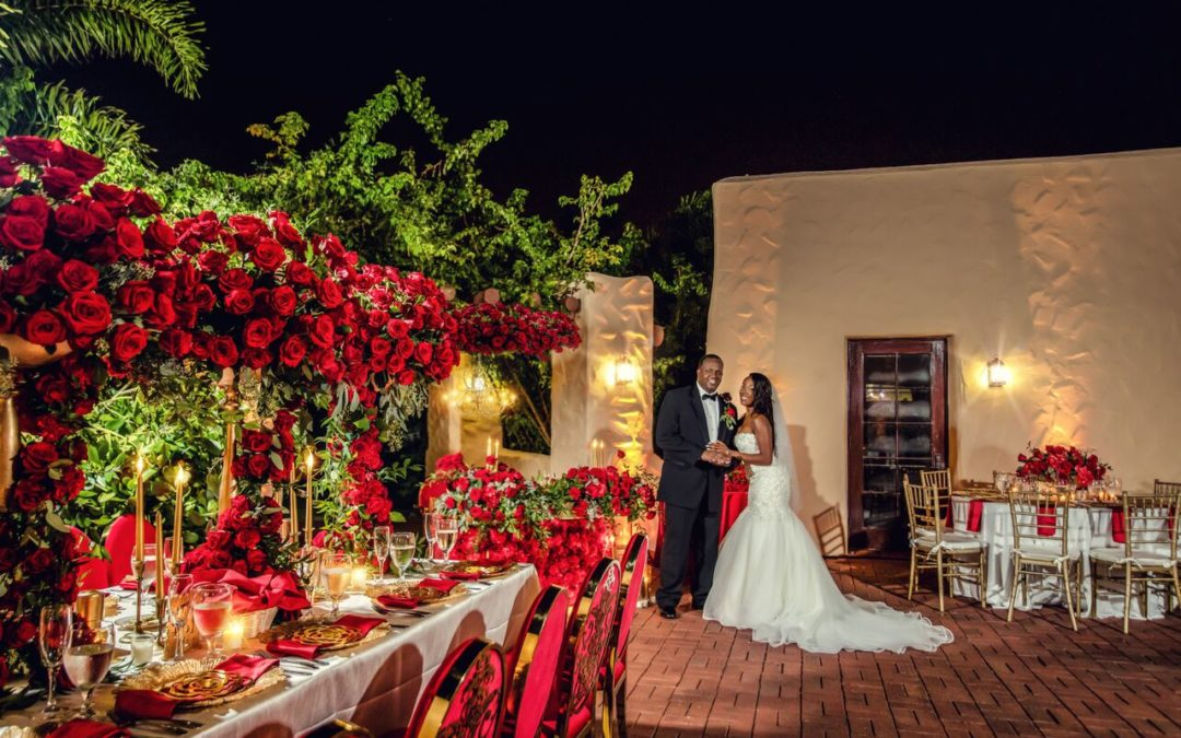 A Romantic Rose Affair – The Florida Wedding of Sergelyn & Roger