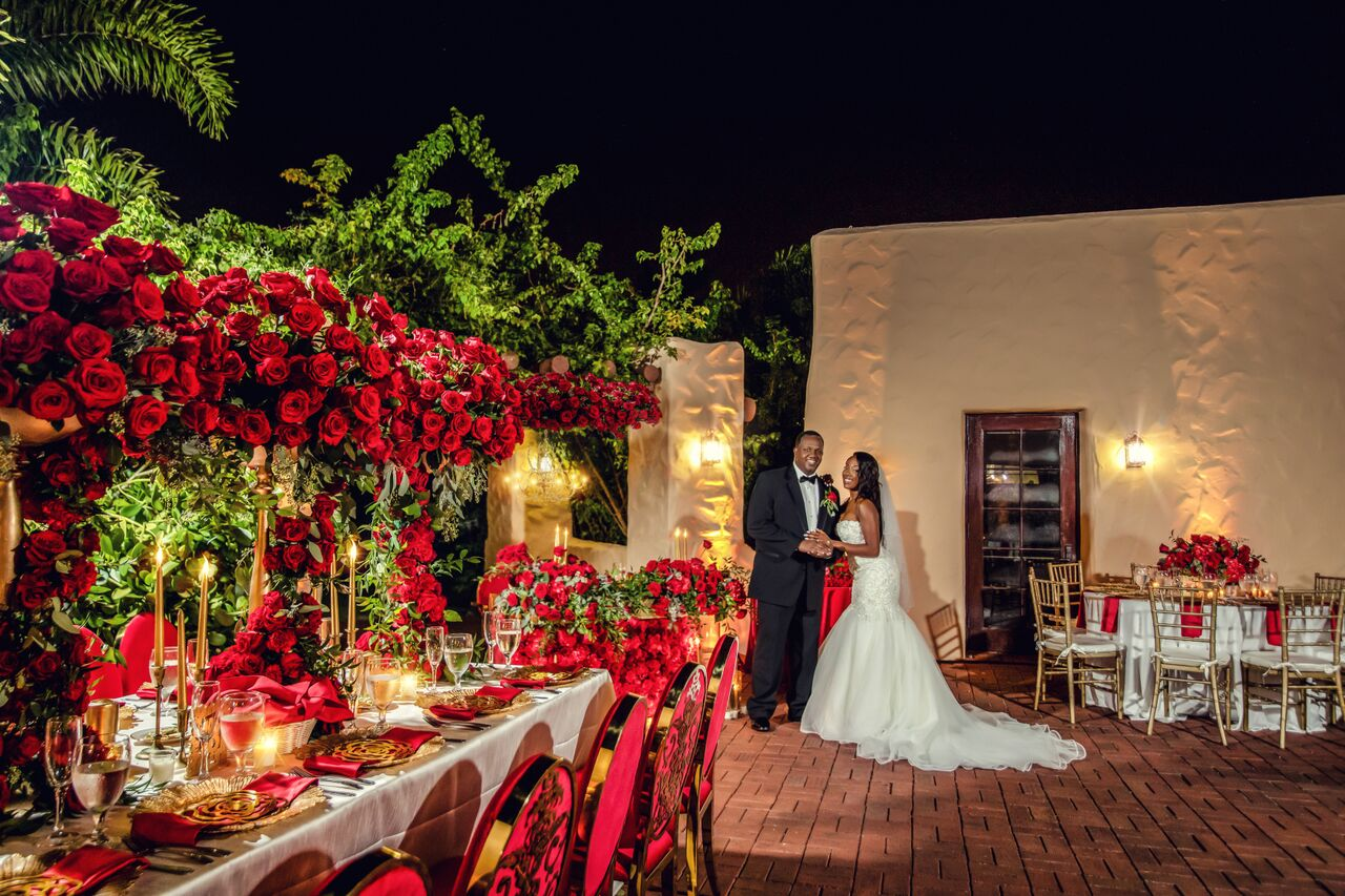 A Romantic Rose Affair – The Florida Wedding of Sergelyn & Roger