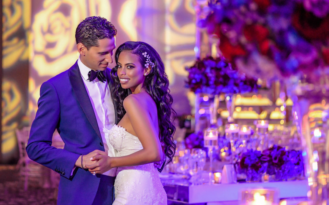 A Luxury Orchid Filled Miami Beach Wedding