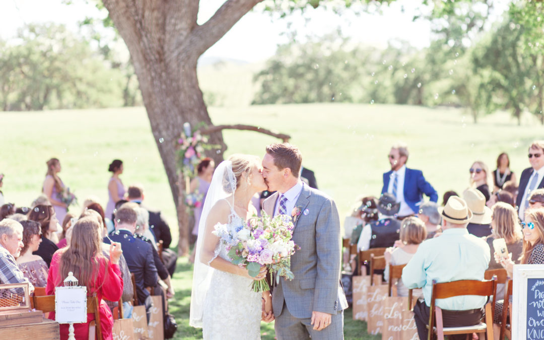 A Romantic Wedding in Paso Robles – Jamie and Margaret