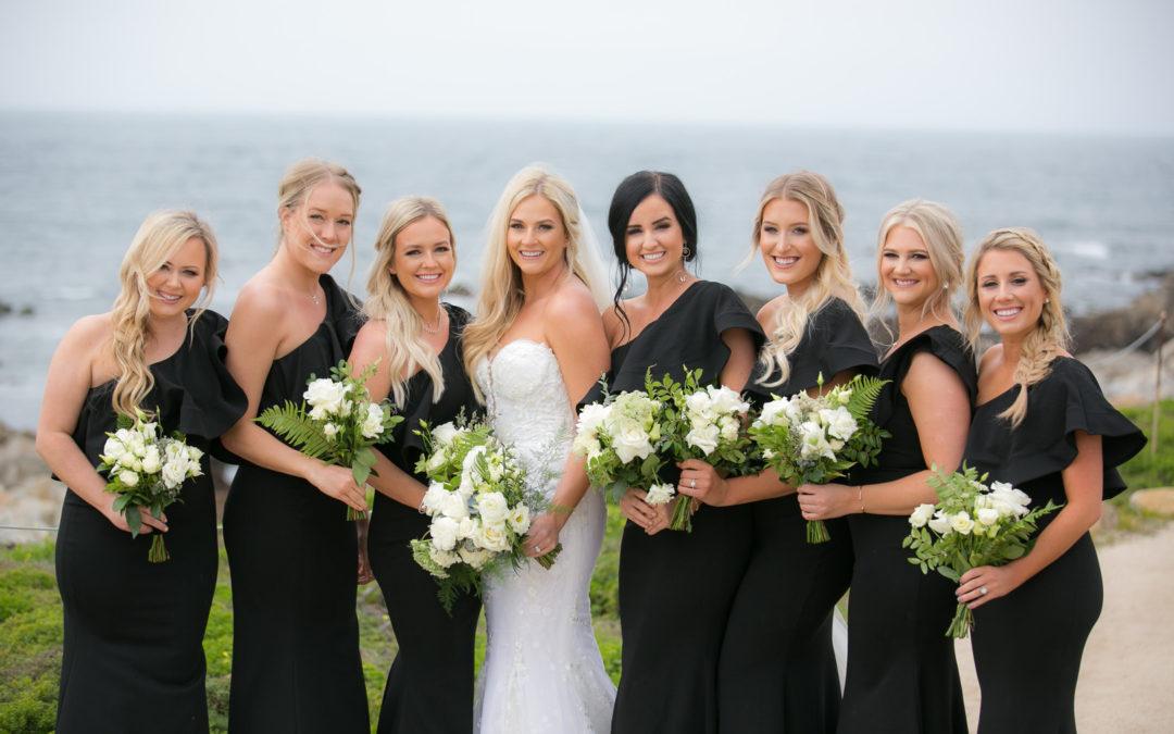 Modern Glam Monterey Wedding: Brookey & Logan