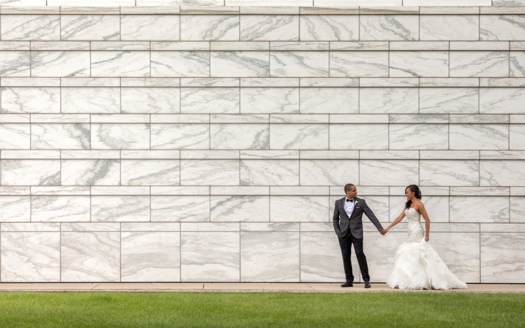 Modern Loft Wedding in Downtown Detroit: Jessica & Andre