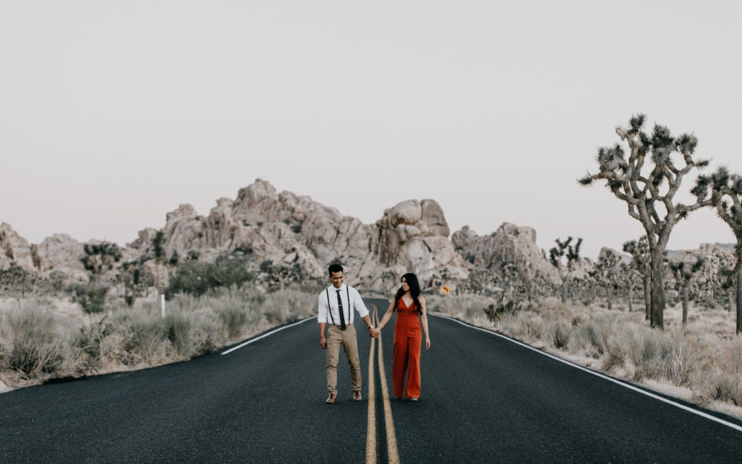 A Desert Engagement Shoot in Joshua Tree National Park