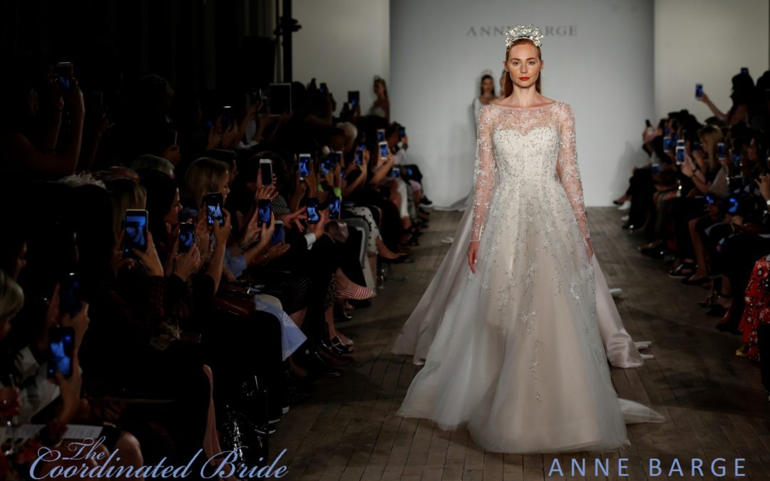 New York Bridal Fashion Week Recap F/W 2019 – Anne Barge {The Coordinated Bride}