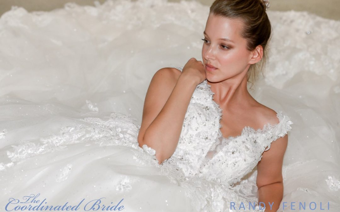 New York Bridal Fashion Week Recap F/W 2019 – Randy Fenoli  {The Coordinated Bride}