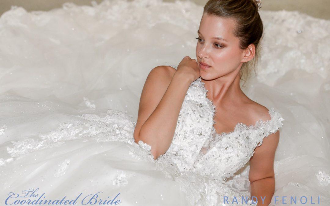 New York Bridal Fashion Week Recap F/W 2019 – Randy Fenoli  {The Coordinated Bride}