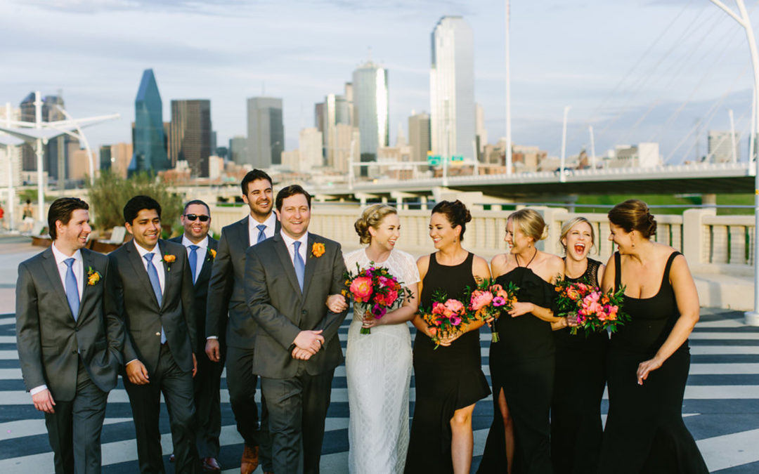 A Downtown Dallas Wedding With A View!