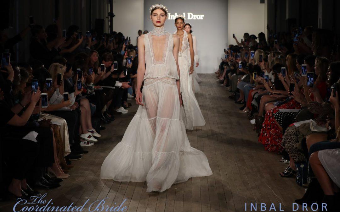 New York Bridal Fashion Week Recap F/W 2019 – Inbal Dror  {The Coordinated Bride}