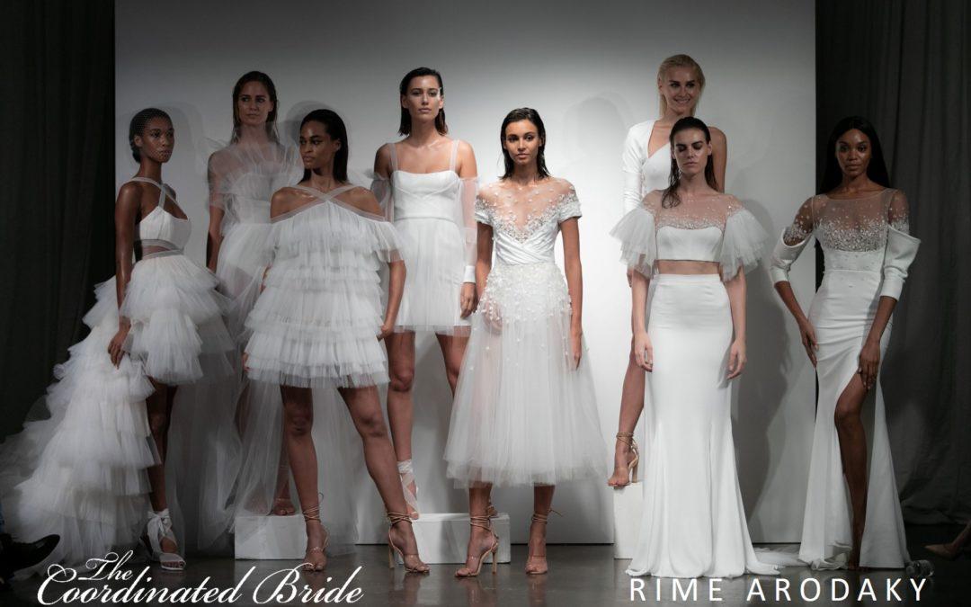 New York Bridal Fashion Week Recap F/W 2019 – Rime Arodaky {The Coordinated Bride}