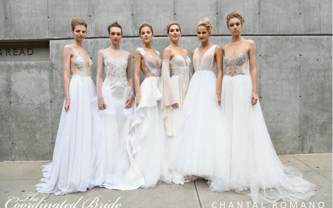 New York Bridal Fashion Week Recap F/W 2019 – CHANTAL ROMANO {The Coordinated Bride}