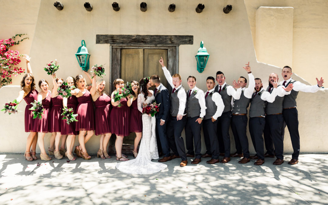 Modern Vintage Wedding – Erica and Brad
