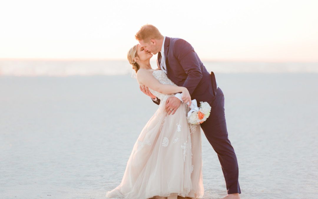 Romantic Seaside Beach Wedding – Sara and Matt
