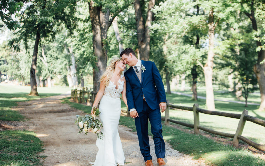 Blissful Outdoor Wedding at the University of Nebraska: Angela & Troy
