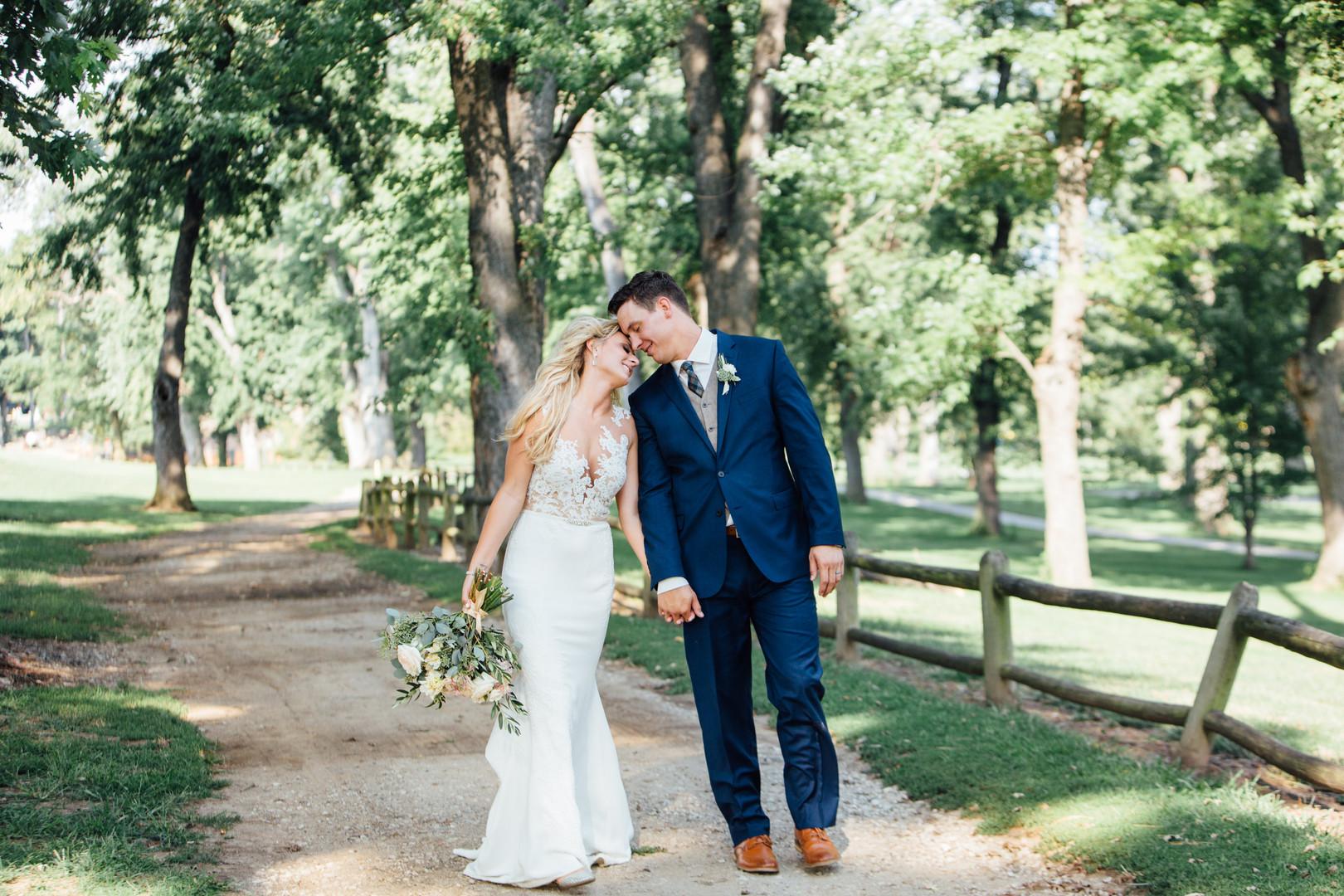 Blissful Outdoor Wedding at the University of Nebraska: Angela & Troy