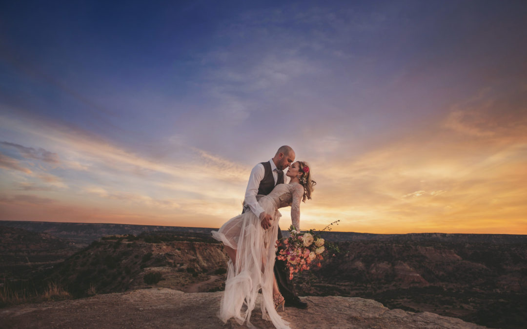 Couples Shoot in Palo Duro Canyon State Park in Texas