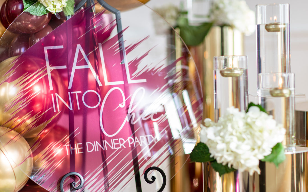 "Fall Into Chic ""The Dinner Party""! A Luxury Styled Shoot"