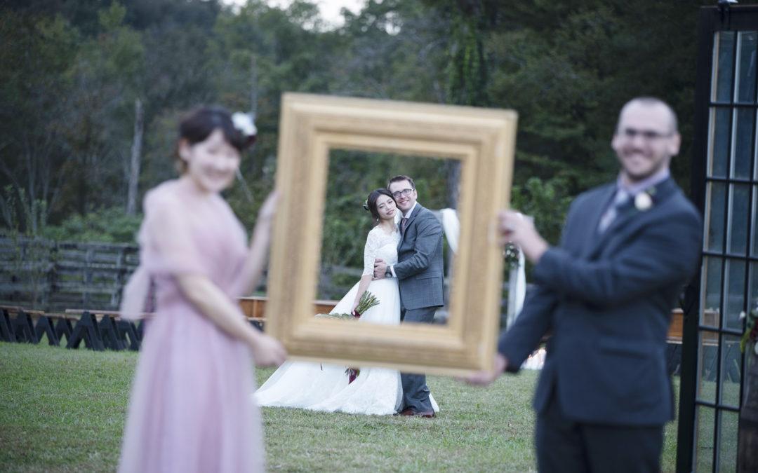 Enchanting Kentucky Barn Wedding: Akari & Max